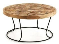 Mesa de centro en madera de Teca : Modelo KAT