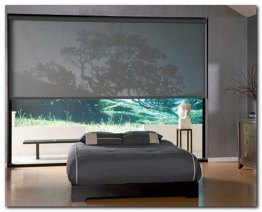 спальни с панорамными окнами