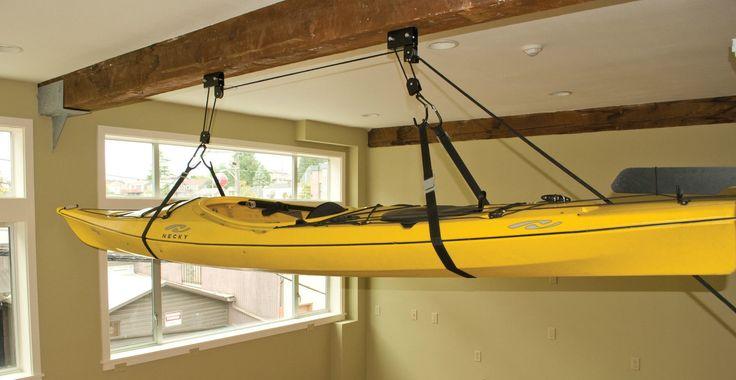 Seattle Sports Sherpak Hoist Kayak Bike Box Storage Hoist System