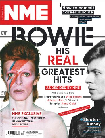 NME Magazine: Top 40 Bowie Songs