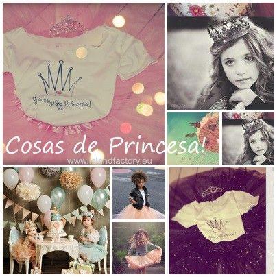 #camiseta #princes #rosa #pink #princess #rock #islandfactory #girls #tshirt