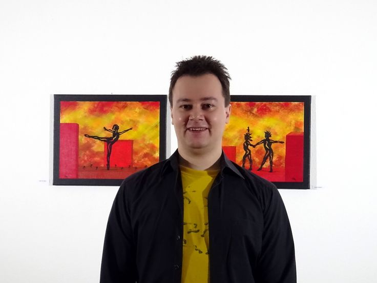 Visit Manuel Süess' art studio in Rheinfelden, Switzerland and find some new, beautiful abstract-figurative paintings for your home. You aren't living nearby? Visit his website instead! http://art-by-manuel.com/en