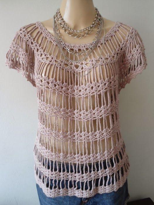 Jersey Fashion Crochet-Tricot Patron - Patrones Crochet