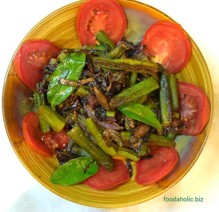 Bhindi Do Pyaza, Okra Onion Stir fry