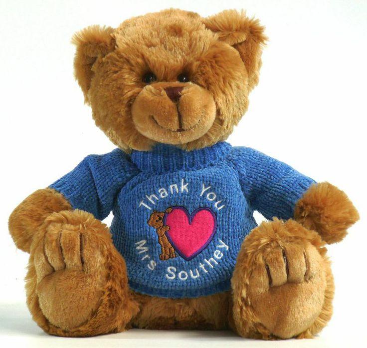 Cute and cuddly teacher gift.