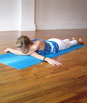 Yoga Shoulder Openers: Yoga Poses for Shoulders, Hips, and Posture - Shape Magazine. Exercise with care.