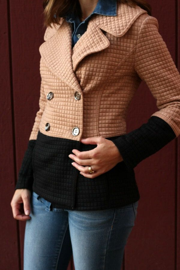 THML Pierina Textured Colorblock Peacoat - not sure if I need it, but it is so damn cute, I want it.  :D