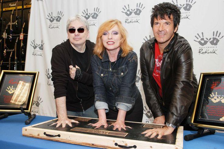 Chirs Stein, Debbie Harry en Clem Burke