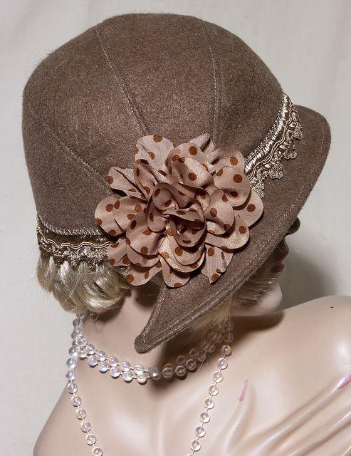 1950's Cloche Hat. Seamstress: Aileen. Pattern: Depew 1015 (http://mrsdepew.com/hat-patterns/1950s-style-cloche-cap.html)