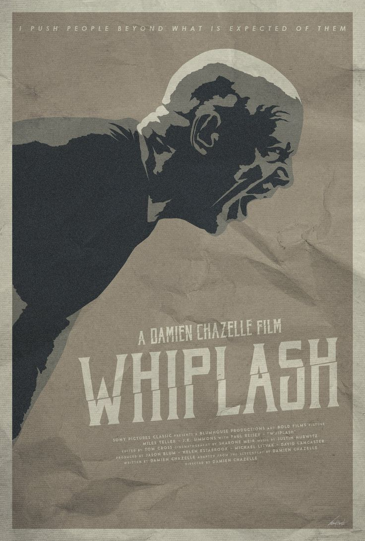 Not My Tempo - Whiplash Poster by edwardjmoran.deviantart.com on @DeviantArt