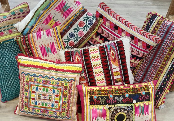 Perfect selection of Moroccan/ Boho Cushions on our online store. Call for prices OR visit our site www.ginjab.com.au