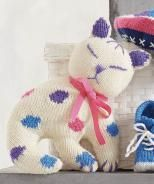 Knitted Cat, S8642 - Free Pattern