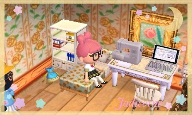 ときめき まち Cute Bedding Pattern Animal Crossing New Leaf