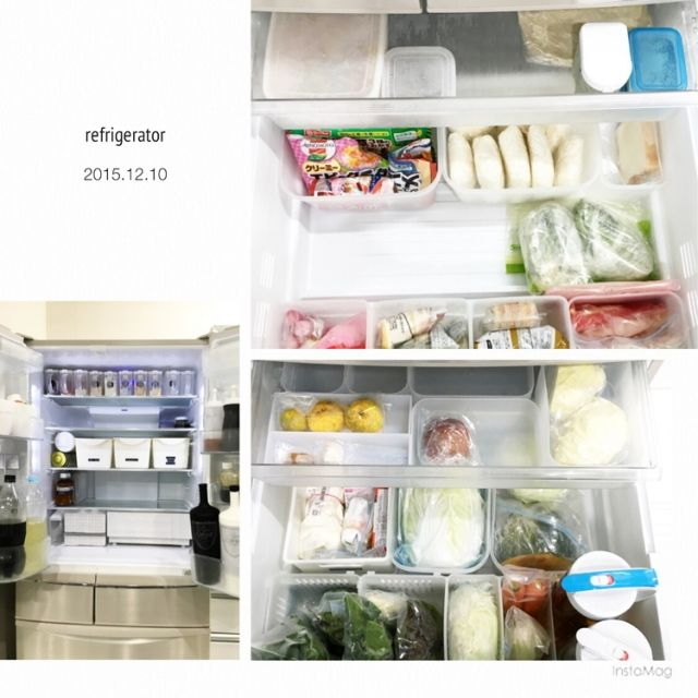 XXRRIIEEXXさんの、Instagramやってます,ダイソー,整理整頓,収納,キッチン収納,シンプルライフ,シンプル,セリア,冷蔵庫,冷蔵庫収納,収納見直し,のお部屋写真