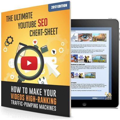 THE ULTIMATE YOUTUBE SEO CHEAT-SHEET [2017 EDITION] 15 Simple Tricks Elite Marketers Use To Consistently WIN Traffic-Pumping No.1 Rankings With Video…