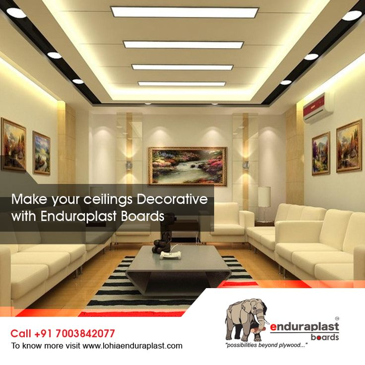 Make Your Ceiling Decorative With Enduraplast Boards To know more