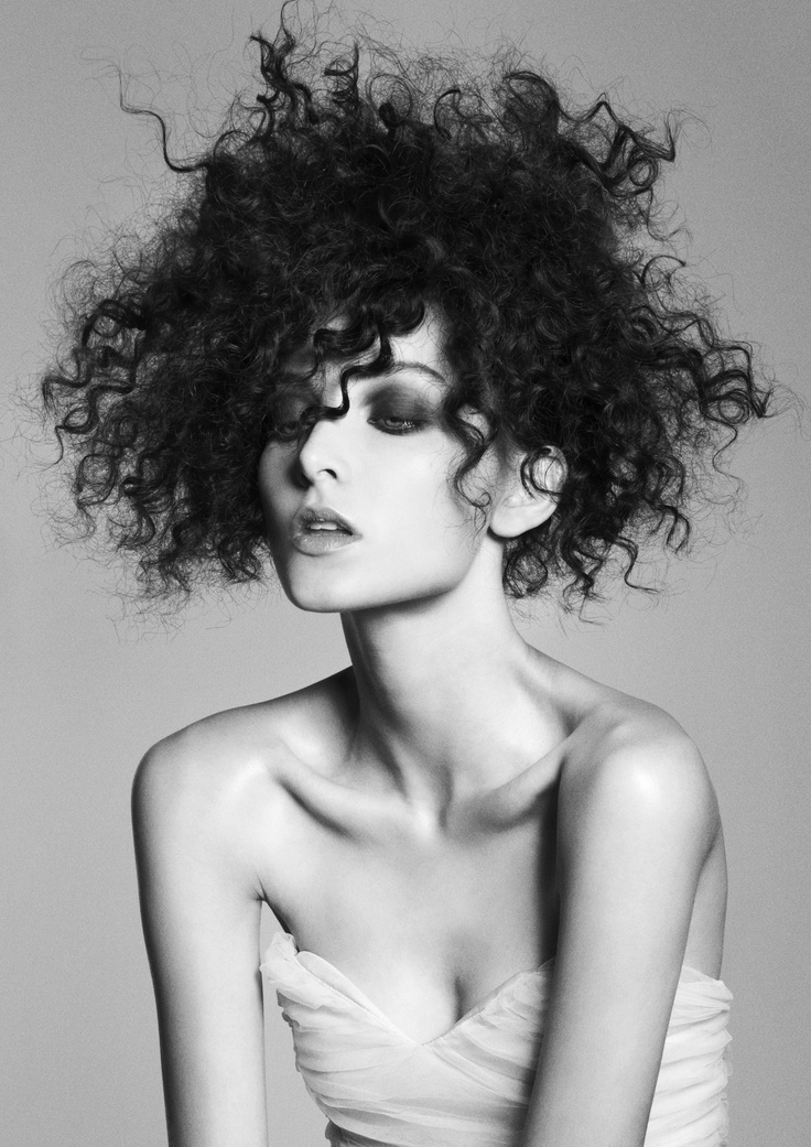 Frank Apostolopoulos – Hair Expo Australian Hairdresser of the Year Finalist, curls