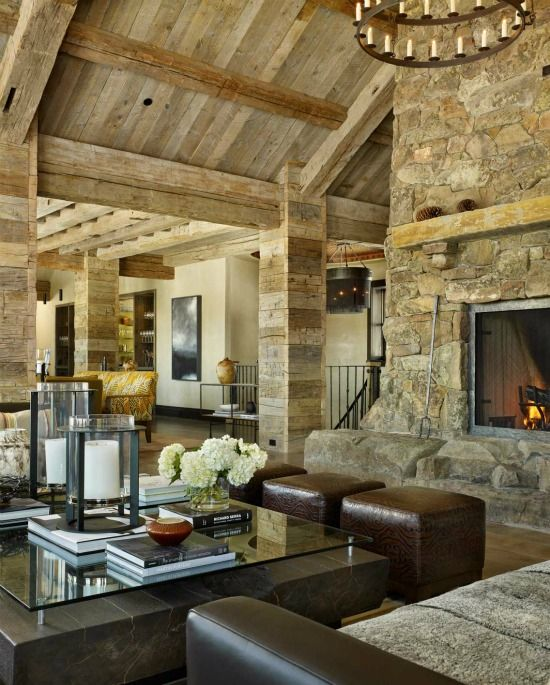 Interior Design Ranch Home High Alpine Ranch Montana