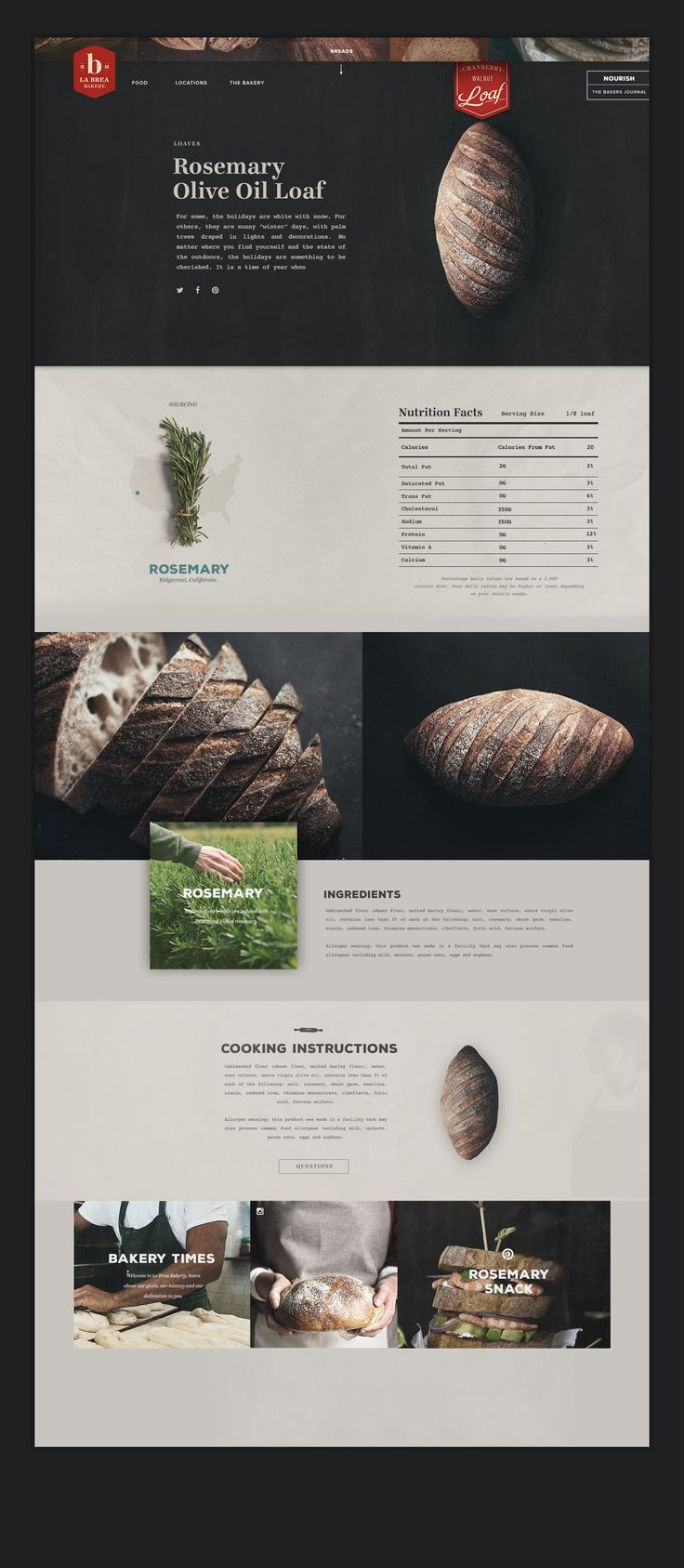 Like the appropriate use of different typefaces. Great images!