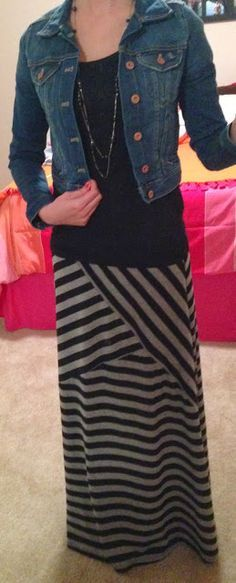 Trendy Tales of a Teacher. getting some use out of my maxis in the winter. cozy, cute and cheap #modest #modesty #christian