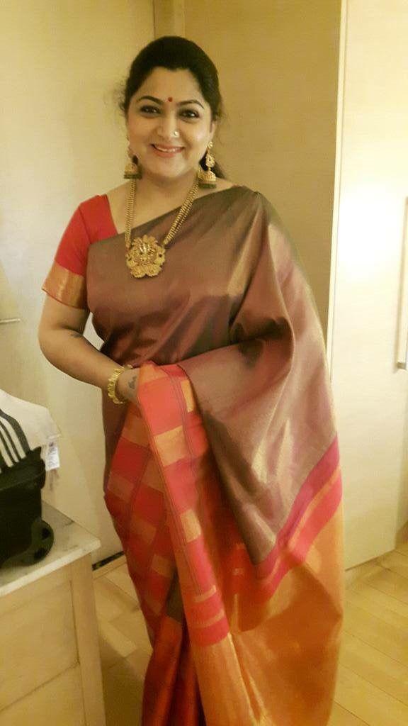 Kushboo silk Saree