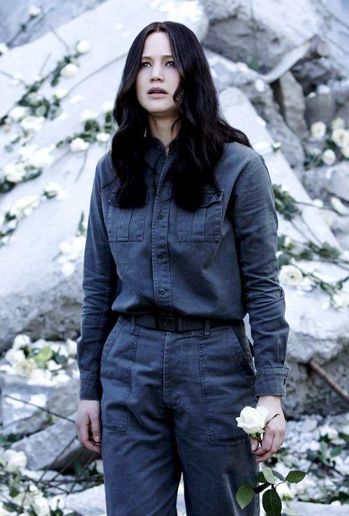 Katniss Everdeen: The face of the revolution; The Mockingjay