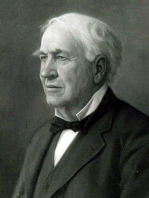 Lista de pessoas famosas que foram homeschoolers (que tiveram Educação Domiciliar). Eis o vigésimo quarto:24) Thomas Alva Edison