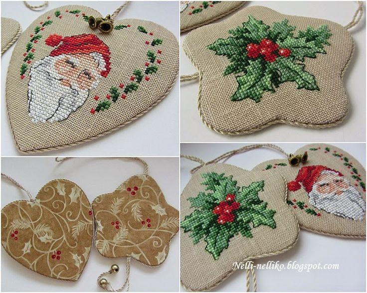 Nelli: Santa and Holly