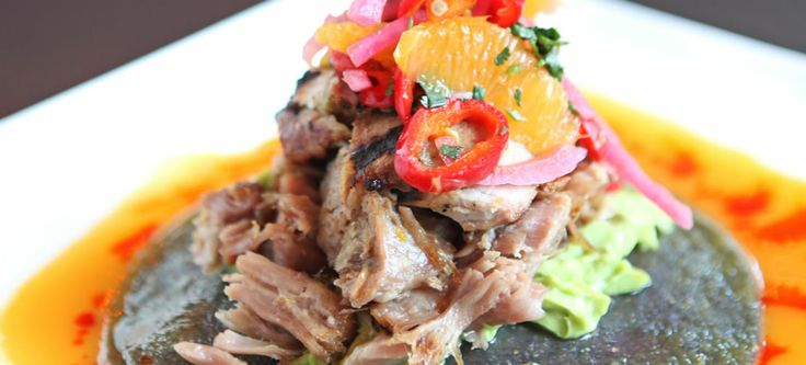 Tamayo Restaurant dish - Chef Richard Sandoval