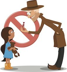 10 Ways to Test Your Child About Stranger Danger - some great tips and resources to help your children understand why they can't go with a stranger.