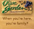 Olive Garden: $5/2 Dinner Entrees & $3/2 Lunch Entrees Coupons