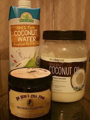 Fasting the Dr. Sebi Way: Dementia or Alzheimer's Remedy -Coconut water, oil...