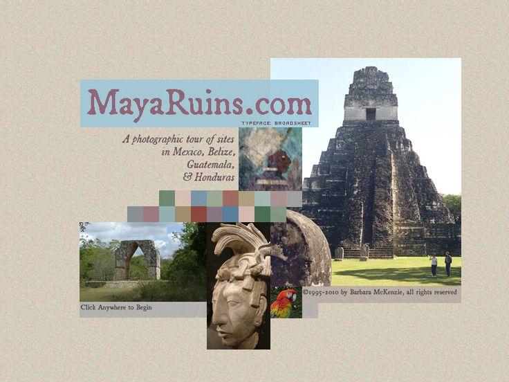 Maya Ruins - photographic tour
