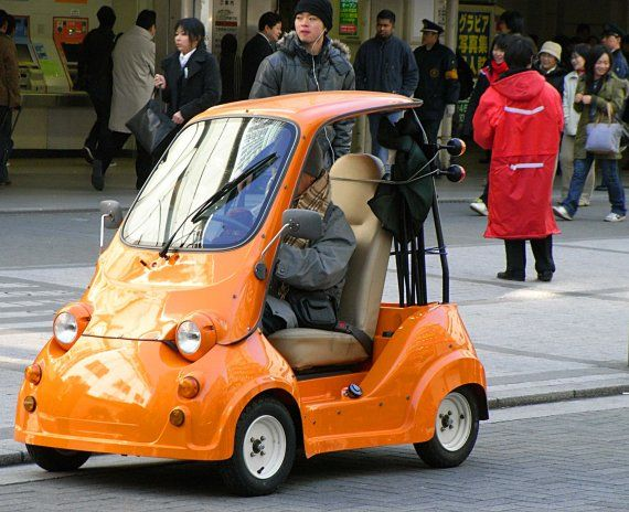 small car in tokyo