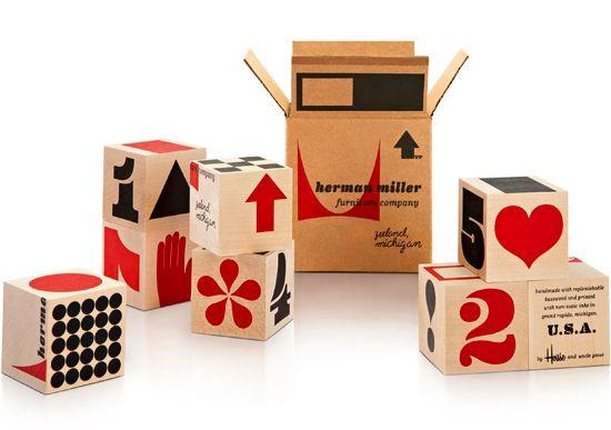 House Industries, Herman Miller, Alphabet, Blocks
