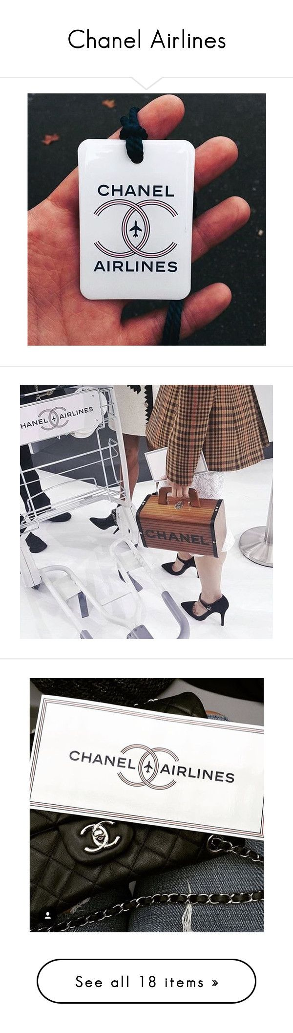 Chanel Airlines by kristina-susanto on Polyvore