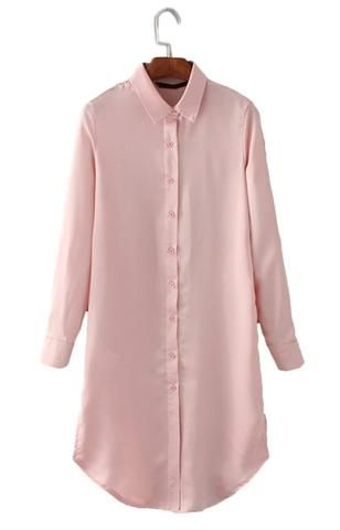 Trendy-Road-Style-Shop-Online-Woman-Fashion-Street-shirt-dress-long-back-floral-embroidery-satin-pink