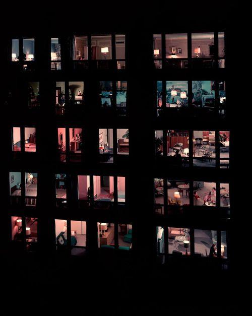 Frank Scherschel Apartment house at 860 Lake Shore Drive, Chicago, 1957