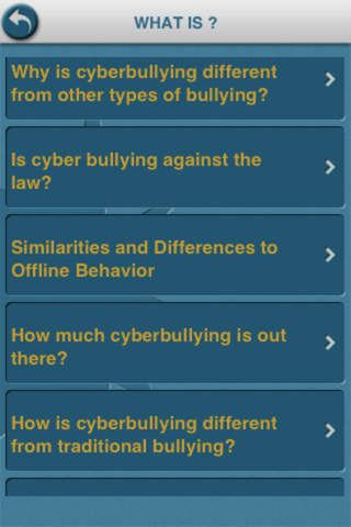 8 best cyber bullying images on pinterest cyber bullying cyber bullying cyber bullying is an informational app that explains what cyberbullying is how fandeluxe Images