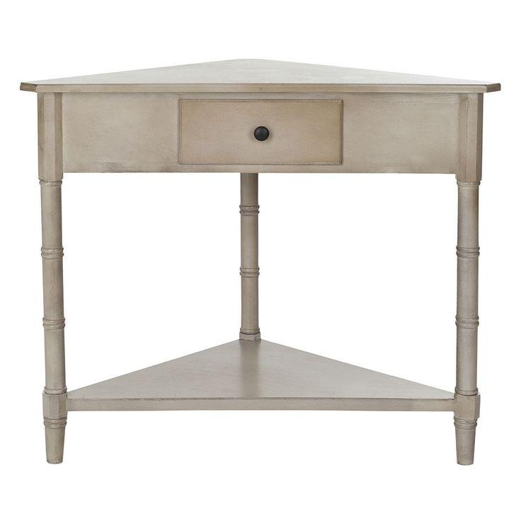 Safavieh Gomez Corner Accent Table, Grey