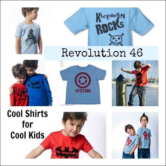 Revolution 46 :: Cool Shirts for Cool Kids (+ a giveaway!): Cool Kids, Kids Plays, Kiddo Stuff, Kids Stuff, Kids Tshirt, Kids Giveaways, Kids Products, Back To School, Kiddie Clothing