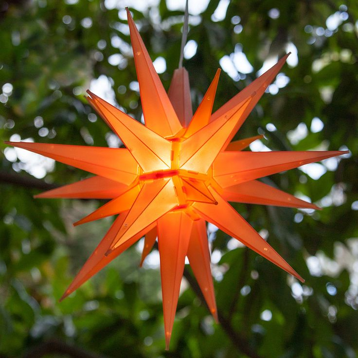 moravian paper star instructions