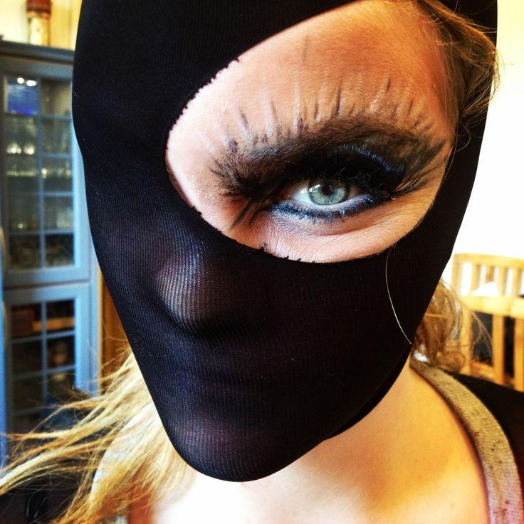dancer's makeup.