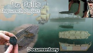 Underwater Videos by CVP: La Salle Shipwreck Project - Maritime Documentary