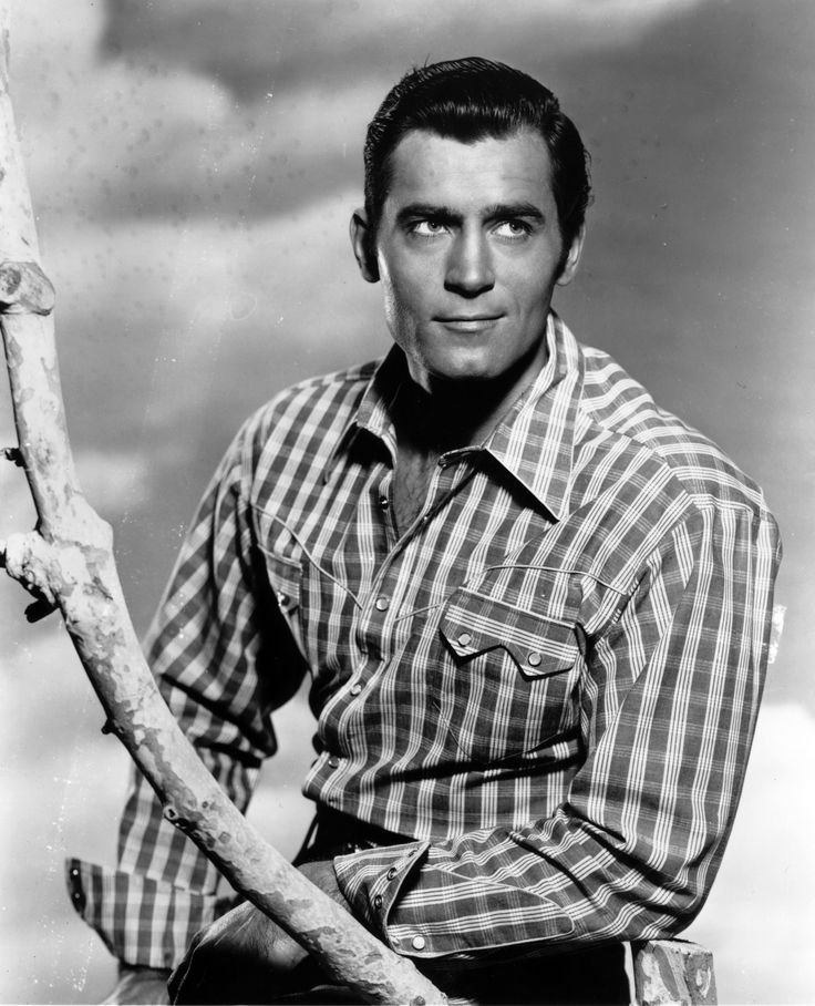 The 20 Hunkiest Actors in Hollywood History - Clint Walker  - from InStyle.com