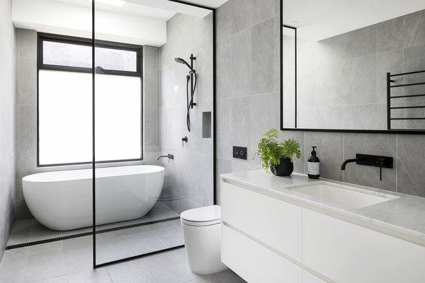 An Australian Victorian Home Gets Rescued From A Bad 70s Remodel Bathroom Interior Bathroom Interior Design Modern Bathroom Design