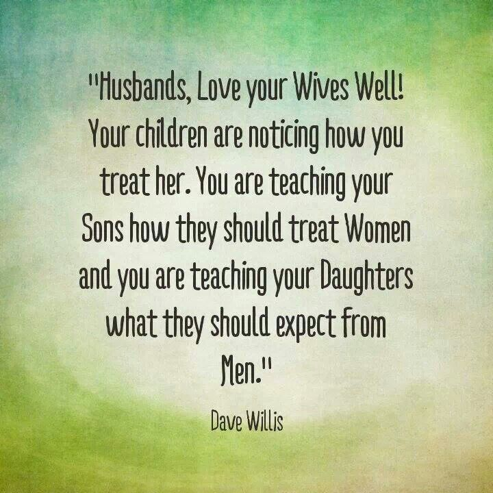 Why a husband disrespects his wife
