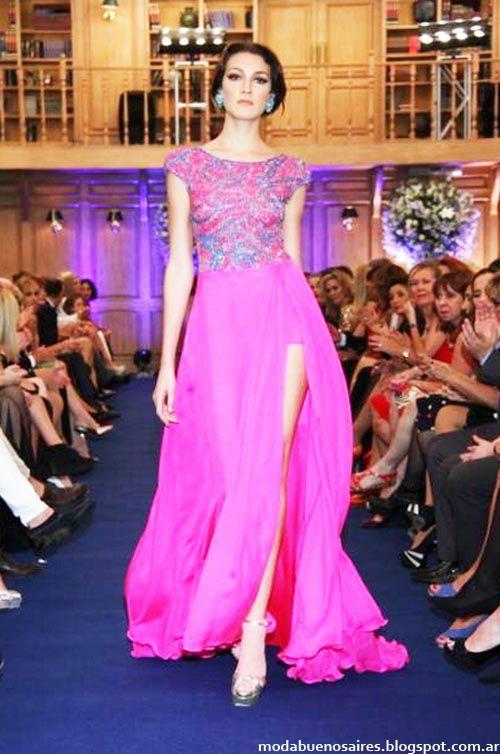 146 best Vestidos de fiesta images on Pinterest | Ballroom dress ...
