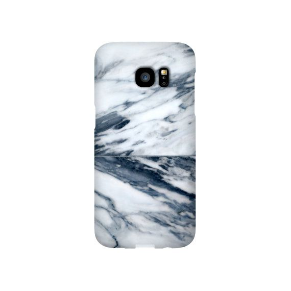iPhone 6 6s 7 Plus SE Slim Snap Case Navy Blue by DesignsBySiena