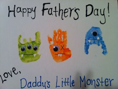 Am soooooo doing this with the kids for Daddy this year